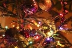 圣诞节在里加 库存照片