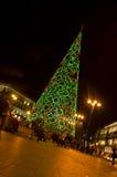 圣诞节在马德里-西班牙 免版税库存图片