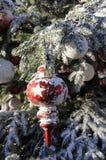 圣诞节在TIVOLI庭院里 免版税库存图片