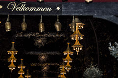圣诞节在Tivoli 库存图片