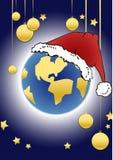 圣诞节地球系列 图库摄影