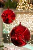 圣诞节地球 库存照片
