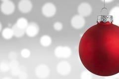 圣诞节场面背景 免版税库存图片