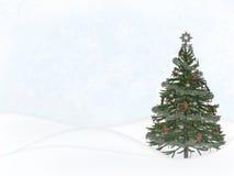 圣诞节场面 库存照片
