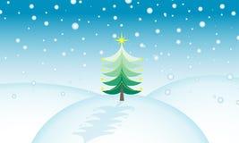 圣诞节场面 免版税库存图片
