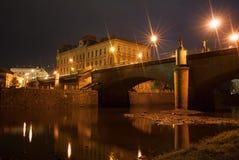圣诞节城市神仙的拉脱维亚晚上地方上的短期相似的传说 免版税库存照片