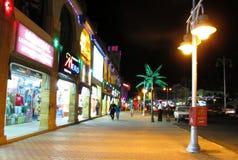 圣诞节城市神仙的拉脱维亚晚上地方上的短期相似的传说 图库摄影