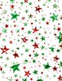 圣诞节域星形 库存图片