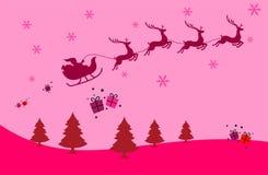 圣诞节墙纸背景 库存照片