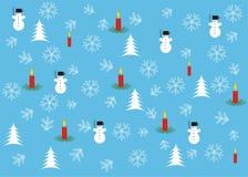圣诞节墙纸 免版税库存图片