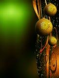 圣诞节复制装饰温泉 向量例证