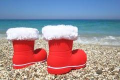 圣诞节夏天 免版税库存照片