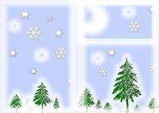 圣诞节夜间 免版税库存照片