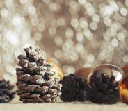 圣诞节大气 库存照片