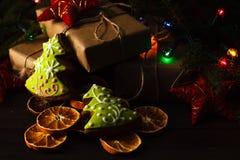 圣诞节大气 免版税库存照片