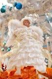 圣诞节天使装饰 免版税库存图片