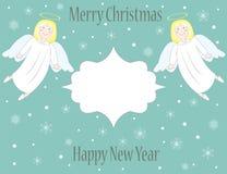 圣诞节天使 免版税库存照片
