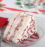 圣诞节夹心蛋糕 库存图片