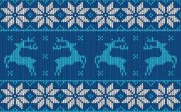 圣诞节套头衫样式设计 免版税图库摄影