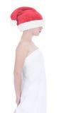 圣诞节女孩失去 免版税库存照片