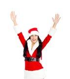 圣诞节女孩 库存照片