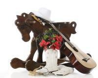 圣诞节女牛仔种类 免版税库存照片