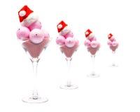 圣诞节奶油色冰 免版税图库摄影