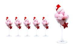圣诞节奶油色冰 免版税库存照片