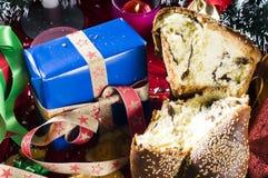 圣诞节好吃的东西 免版税库存图片