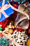 圣诞节好吃的东西 免版税图库摄影
