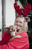 圣诞节好莱坞游行 免版税图库摄影