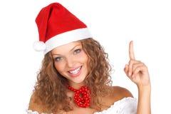 圣诞节妇女 图库摄影