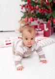 圣诞节妈妈结构树  库存图片