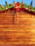 圣诞节委员会背景 免版税图库摄影
