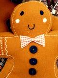 圣诞节姜饼人 免版税库存图片