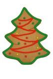 圣诞节姜饼结构树 图库摄影