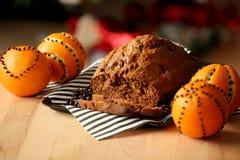 圣诞节姜饼装饰 免版税库存图片