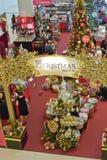圣诞节季节购物 免版税库存照片