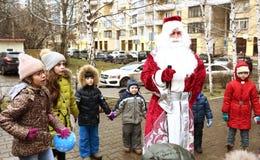 圣诞节孩子的庆祝事件 图库摄影
