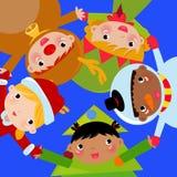 圣诞节孩子 库存图片