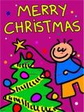 圣诞节孩子 库存照片