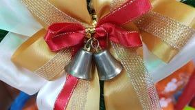 圣诞节孪生响铃 免版税库存图片