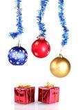 圣诞节安排装饰 图库摄影