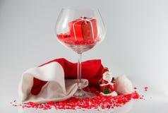 圣诞节安排 免版税库存照片