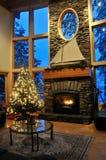 圣诞节客厅 免版税图库摄影