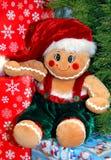 圣诞节客户结构树 库存照片