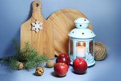 圣诞节室内设计 免版税库存照片