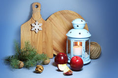 圣诞节室内设计 免版税库存图片