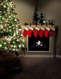 圣诞节家 免版税库存照片