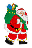 圣诞节对象 皇族释放例证